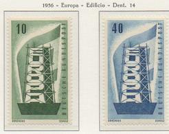 PIA - CEPT - 1956 - ALLEMAGNE - (Yv 117-18) - Europa-CEPT