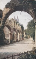 AR33 Canterbury Cathedral, Monastery Ruins - Canterbury