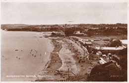 AS50 Goodrington Sands, Paignton - RPPC - Paignton