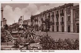 AS50 Messina, Corso Cavour, Fontana Gennaro - RPPC - Messina