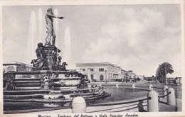 AS50 Messina, Fontana Del Nettuno E Viale Principe Amedeo - Messina