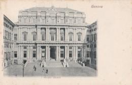 AS50 Genova, Palazzo Ducale - Early Undivided Back - Genova (Genoa)