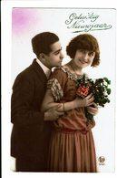 CPA - Carte Postale -Pays Bas- Gelukkig Nieuwjaar Avec Un Couple -1924 VM3890 - Nieuwjaar