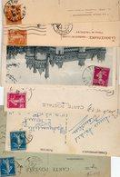 FRANCE..TIMBRE TYPE SEMEUSE CAMEE...VOIR DETAIL.....LOT DE 48 SUR CPA....VOIR SCAN......LOT 8 - 1906-38 Semeuse Camée