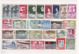 Saarland - Sammlungsreste - Ungebr./Gest. - 2. - 1947-56 Allierte Besetzung