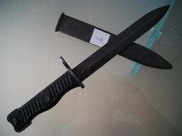 Baionette Dague Couteau Militaire Yougoslavie - Armes Blanches