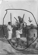 Armée Française  DCA MITRAILLEUSE AFFUT  14-18 DEFENSE CONTRE AVION - Krieg, Militär