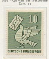 PIA - GERMANIA - 1956  : Giornata Del Francobollo  -   (Yv 123) - Nuovi
