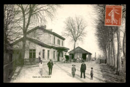 51 - DAMERY - LA GARE DE CHEMIN DE FER - Frankreich