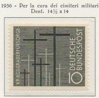 PIA - GERMANIA - 1956  : Per La Cura Dei Cimiteri Militari  -   (Yv 124) - Nuovi