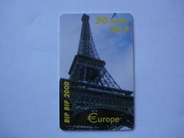 """Carte Prépayée Française  """" BIP BIP """" (neuve Non Gratter) Tirage: 1.000 Ex. - Cellphone Cards (refills)"""