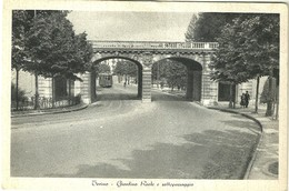"4460 ""TORINO-GIARDINO REALE E SOTTOPASSAGGIO""ANIMATA-TRAMWAY ANNI '30-CART. POST.ORIG. SPED 1939 - Parcs & Jardins"