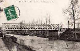 44- BLAIN - LE PONT DE CHEMIN DE FER - Blain