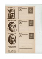 FAL9- ALLEMAGNE III REICH - 6 CP ILLUSTREES PERSONNAGES CELEBRES - Germany