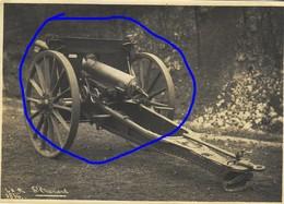 Armée Française  ARTILLERIE CANON 14-18 75 Mm (3) - Krieg, Militär