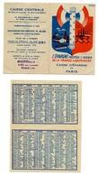 Calendrier 1943 - Caisse D'Epargne (propagande Gouvernement De Vichy - Pétain) / Rare - Calendarios
