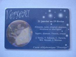 """Carte Prépayée Française  """" SWITCHback """" (neuve Non Gratter) VERSEAU. - Cellphone Cards (refills)"""