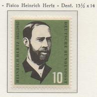 PIA - GERMANIA - 1957  : Centenario Del Fisico Heinrich Hertz   -   (Yv 131) - Nuovi