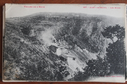 ALET  LES  BAINS   -          LES  MINES    CIRCULEE  EN  1929 - Other Municipalities