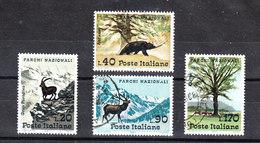 Italia  -  1967.  Natural  Parks' S Italy.  Bear, Deer, Chamois. Orso, Cervo, Camoscio.  Complete Set, Fine Obliteration - Protezione Dell'Ambiente & Clima