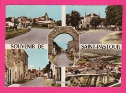 CPSM (Ref: Z2058) 5 C Souvenir De SAINT-PASTOUR   (47 LOT & GARONNE)  MULTI VUES - France