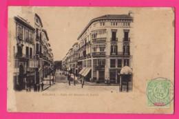 CPA  (Ref: Z2067) MALAGA (ESPAGNE)  Calle Del Marqués De Larios  (animée) - Málaga