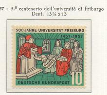 PIA - GERMANIA - 1957  : 5° Centenario Dell' Università Di Friburgo  -   (Yv 135) - Nuovi