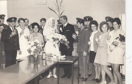 """UKRAINE. # 2186  A PHOTO. """"WEDDING. WOMEN AND BRIDES. Cognac, Champagne And Tomatoes. Evpatoriya. *** - Guerra, Militares"""