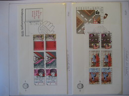 Niederlande/ Netherlands- FDC Beleg Sicherheit Des Kindes Block 17 Mi. 1109-1111, FDC Beleg Kinderhilfe Mi. 1128-1131 - 1949-1980 (Juliana)