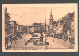 Verviers - Place Du Martyr - Vintage Autobus / Bus / Autocar - Verviers
