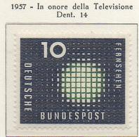 PIA - GERMANIA - 1957  : La Televisione   -   (Yv 139) - Nuovi