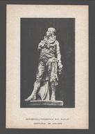 Verviers - Carte Publicitaire à Dos Blanc - Imprimerie-Lithographie Aug. Nicolet, Crapaurue 188, Verviers - Verviers