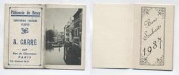 Calendrier 1937 - Pâtisserie A CARRE à Paris - Klein Formaat: 1921-40