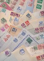 SUISSE - SWISS - HELVETIA - Beau Lot De 330 Enveloppes Timbrées Avant 1950 - Timbres Lettres - Stamp Cover Mail Letters - Lettres & Documents