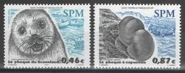 SPM - Saint-Pierre-et-Miquelon - YT 789-790 ** MNH - 2003 - Faune - Phoques - Seals - St.Pierre Et Miquelon