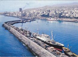 TENERIFE : PORT DE SANTA CRUZ. QUAI DES BATEAUX DE COMMERCE.N.CIRCULEE. ETAT PARFAIT - Tenerife