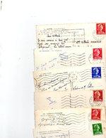 FRANCE..TIMBRE TYPE MARIANNE DE MULLER....LOT DE 48 SUR CPSM....VOIR SCAN......LOT 19 - 1955- Marianne De Muller