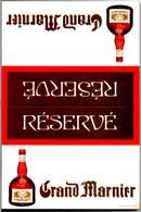 2 Cartes Postales Publicitaires ** GRAND MARNIER (Ecrite Mais TBE) & ALIZE BLUE Pure Cognac (Neuve)** - Publicité