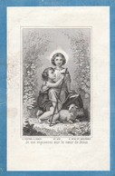 Edmond Jacques Marie Joseph Ghislain Bette-tamines 1910-kreukjes - Images Religieuses