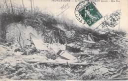 EVENEMENT Catastrophe - 77 - LORROY ( Chateau Landon ) Inondations Crue 1910 : Le Village Détruit - CPA - Seine & Marne - Catastrophes