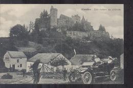 Luxembourg Luxemburg - Vianden - Les Ruines Du Chateau - Auto - 1908 - Cartes Postales