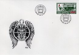 Czech Republic - 2019 - Technical Monuments - First Horse-drawn Tram Line - FDC (first Day Cover) - FDC