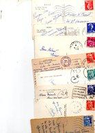 FRANCE..TIMBRE TYPE MULLER.GANDON...MOISSONNEUSES...LOT DE 48 SUR CPSM....VOIR SCAN......LOT 20 - 1955- Marianne De Muller