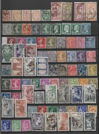 FRANCE 1900/1959 COLLECTION 290 TIMBRES OBLITERES  TBE COTE 175 EUROS VOIR 5 PHOTOS - Francia