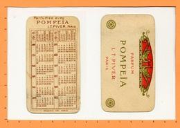 Calendrier 1915 - Parfum POMPEÏA De Piver à Paris - Tamaño Pequeño : 1901-20