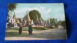 Pagodas Mandalay Myanmar Burma - Myanmar (Burma)