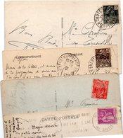 FRANCE..TIMBRE TYPE EXPO 1931... PAIX......LOT DE 48 SUR CPA....VOIR SCAN......LOT 23 - France