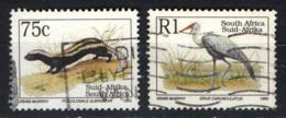 SUD AFRICA - 1993 - Endangered Fauna - USATI - Usati