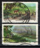 SUD AFRICA - 1992 - SALVAGUARDIA DELLA NATURA - USATI - Usati