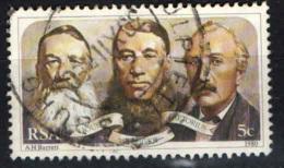 SUD AFRICA - 1980 - P.J. Joubert, Paul Kruger, M.W. Pretorius (First Leaders Of Triumvirate Government) - USATO - Usati